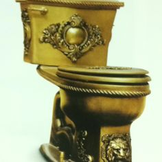Gold toilet, anyone?