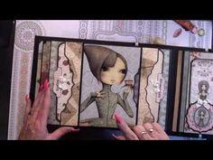 Mini Album Tutorial #5 Grahic 45 Bird Song ( mirabelle style ) - YouTube