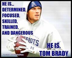 he is, Tom Brady