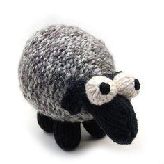 Sheepish Amigurumi Plush Sheep Toy