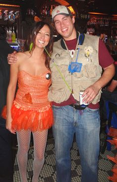 """Plenty of Fish out there but she got hooked"" Couples Costume"