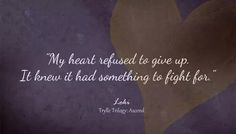 Refuse to give up Amanda Hocking, You Drive Me Crazy, Daughter Of Zeus, Getting To Know You, Love Reading, Giving Up, Losing Me, Read More, Book Quotes