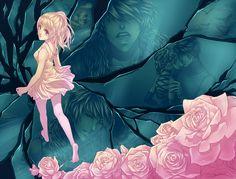 ChiNoMiko - DeviantArt                Dibujo de la creadora del juego Corazon de melon