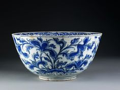 Ceramic bowl - Iran 17th C.