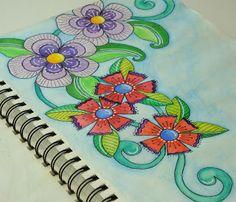 DEsigned By Diane Evans: A Peek Inside My Sketchbook