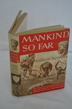 BOOK SALE Vintage Hardback Book Mankind So Far by FloridaFinders, $15.00