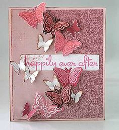 hand stamped card ideas | Ideas for creating your handmade stamping projects, birthday and ...