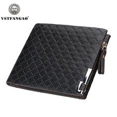 mens wallet with Coin Bag zipper new 2016 men wallets famous brand  male money purses Wallets New Design Top Men Wallet