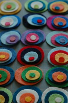 felt projects | The bookmark kits are great first sewing projects - lots of wool felt ...