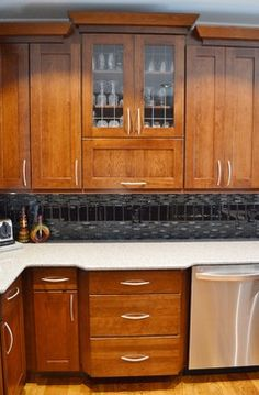 Kitchen idea of the day traditional light wood kitchens for A z kitchen cabinets ltd calgary