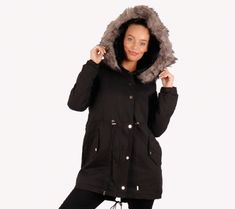 68# (Fekete) Prémes szövetkabát | viyou.hu Coat, Pink, Jackets, Fashion, Down Jackets, Sewing Coat, Moda, La Mode, Coats