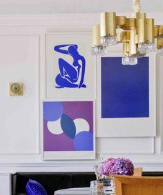 Raji RM & Associates - Collage style display of art works