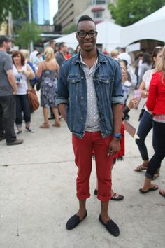 Red Chinos at the University of Alberta