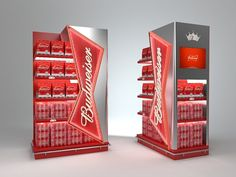 Budweiser by Eduardo Vicentini, via Behance