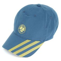 Show your French Open spirit with theadidasRoland Garros Tennis Cap, made fromClimaCoolfabric to keep your performance at its peak during clay court season. The lightweight and ventilated fabric keeps your head cool by drawing sweat away from the skin. The off-set 3-stripe design and the official Roland Garros logo set this cap apart from the rest in quality and style.One size fits most.Fabric: 100% PolyesterColor: Sub Blue/Vivid Yellow