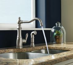 MOEN - Weymouth Kitchen Faucet - traditional - kitchen faucets - other metro - Gerhards
