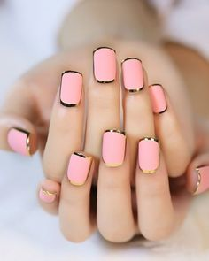 60+ Mate Pink Stylish Nail Designs for 2018