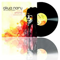 #nowplaying: Akua Naru - Live & Aflame Sessions [2011]