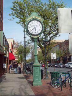 Martinek's Jewelers Clock in Downtown Traverse City, MI