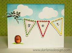 Darling get well card!