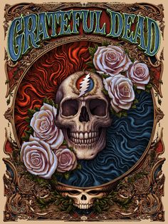 NC Winters Grateful Dead Black Licorice Variant Poster Signed N. Grateful Dead Image, Grateful Dead Poster, Grateful Dead Skull, Poster Art, Poster Prints, Gig Poster, Art Print, Grateful Dead Wallpaper, Phil Lesh And Friends