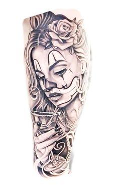 Chicano Tattoos Sleeve, Chicano Style Tattoo, Best Sleeve Tattoos, Sleeve Tattoos For Women, Dope Tattoos, Body Art Tattoos, Girl Tattoos, Badass Tattoos, Totem Tattoo