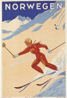 Norwegen - 1933 - (Erling Nielsen) -