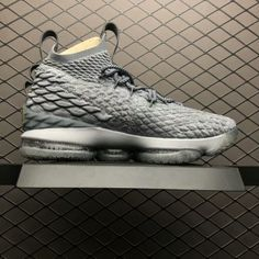 219a726015ebb Buy Nike LeBron 15 City Edition Wolf Grey Metal Gold 897649-005 Online-2