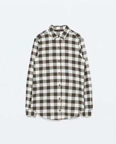 CHECK SHIRT WITH POCKET-View all-Tops-WOMAN | ZARA United States