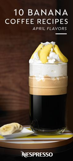 We're not monkeying around when it comes to this collection of banana coffee recipes from Nespresso. Click here to choose from a variety of unique drinks like Iced Coconut Coffee with Banana or Vivalto Lungo with Coconut Cream Cheese and Passion Fruit Coulis.
