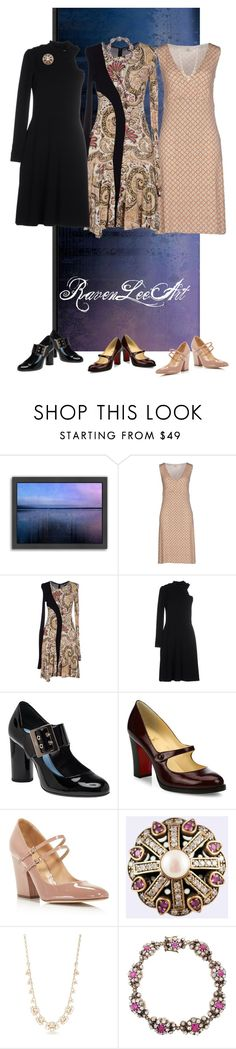 """Untitled #824"" by ravenleeart ❤ liked on Polyvore featuring Americanflat, SIYU, Just Cavalli, Viktor & Rolf, Lanvin, Christian Louboutin, Sergio Rossi, Anello and Kate Spade"