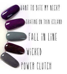 The must have fall nail colors of 2014!