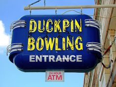 IN, Indianapolis-Fountain Square Duckpin Bowling Neon Sign  The duckpin bowling now in operation at Fountain Square used to be in the building with Iaria's. I believe Fountain Square had their own bowling many years ago.