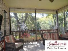 How 2 Install Southern Patio Enclosures Clear Vinyl Patio Enclosures drop curtain system - YouTube