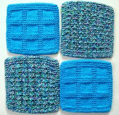Soft Natural Dish Cloths Wash Cloths Bright by CozyKitchenKnits, $12.00