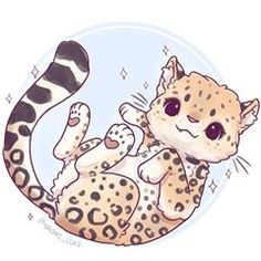 Have an Amur Leopard! ✨✨ they're critically endangered and there are less than a 100 of them left in the wild I'm going to be working on a kawaii endangered species series and hopefully I'll make some sticker sheets and we can raise some money for a conservation charity! • #amurleopard #leopard #cute #kawaii #chibi #endangeredspecies #conservation #instaart #instadaily #instaartist #illustrationoftheday #illustration #digitalart #digitalpainting #doodle #art #drawing