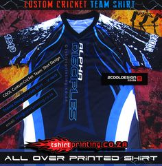 Clothing: Custom shirts, Custom cool, unique and AWESOME T-shirts by an innovative online design service , Stand out the crowd with Custom Sportswear, Team Shirts, Cricket, Cool T Shirts, Custom Shirts, Custom Design, Shirt Designs, Christian