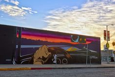DFace creates a new mural for Branded Arts in Los Angeles, USA