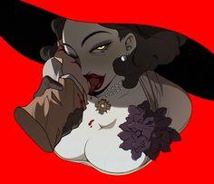 Resident Evil 8, Female Monster, Lord Help Me, Female Dragon, Vampire Art, Fan Art, Video Games, Disney Characters, Fictional Characters