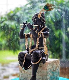 Sri Krishna Jayanthi or Krishna Janmashtami 2020 Rituals assures success in all spheres and eliminates all negative influences. Hare Krishna, Krishna Hindu, Krishna Leela, Krishna Statue, Jai Shree Krishna, Radha Krishna Images, Lord Krishna Images, Hindu Deities, Hanuman Images Hd