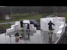 Budowa domu w technologii EKOLIT - YouTube