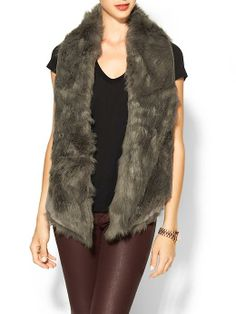 Sabine Shearling Vest | Piperlime