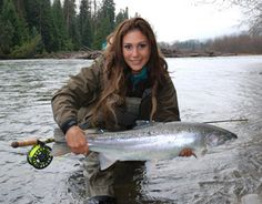 Fish - Fly | April Vokey, British Columbia steelhead guide