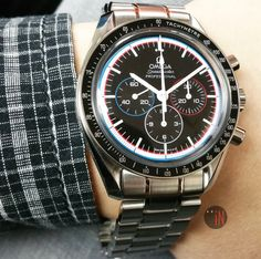 """""""To The Moon & Back iN One Piece!"""" #Omega 42mm #Speedmaster Chronograph 40th Anniversary Apollo XV  Ref#: 311.30.42.30.01.003 ($5,695.00 USD) http://www.elementintime.com/Omega-Speedmaster-3113.04.23.00.10.03-Stainless-Steel-Sku-9000"""