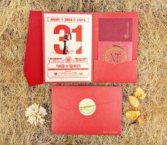 Wedding Invitation Card Design 喜帖設計 #wedding #weddingcard #invitation #喜帖 #囍 #design #graphic #hongkong #喜帖設計 #ppwedding #chinesestyle #modern #invitations