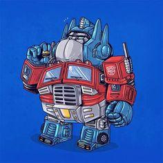 Alex Solis - The Famous Chunkies Optimus Optimus Prime, Fat Cartoon Characters, Cartoon Drawings, Cartoon Art, Alex Solis, Fat Character, Funny Toons, Favorite Cartoon Character, Art Series