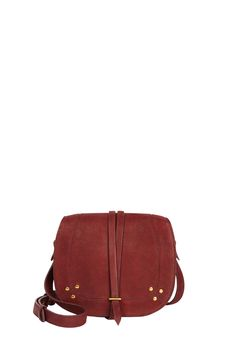 JÉRÔME DREYFUSS Victor Saddle Bag. #jérômedreyfuss #bags #shoulder bags #leather #