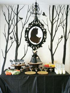Maleficent birthday party.