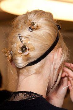 Fall hair trend 2012