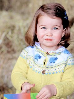 """ ♛ HRH Princess Charlotte Elizabeth Diana of Cambridge. """